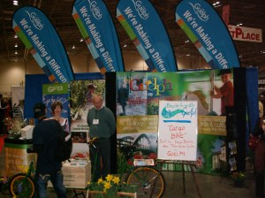 Bicycle-Friendly Guelph makes an appearance at the Toronto International Bicycle Show