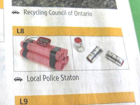 Section L8 Page 17 Guelph Phone Book